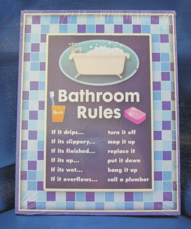 Printable Restroom Etiquette Signs | just b.CAUSE